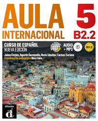 AULA Spanish B2.2 book